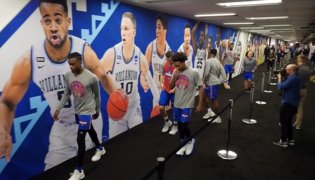 Go behind the scenes with KU at the Final Four in the Alamodome