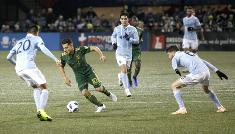 Sporting KC draw in Portland, one win away from reaching MLS Cup
