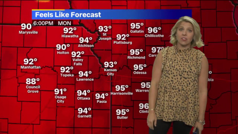 'Hot start to the week': KC heats up, with thunderstorms in forecast later in week