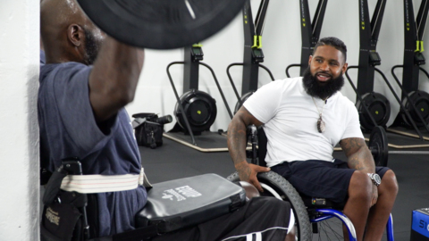 Wesley Hamilton thanks the man who shot and paralyzed him on 'Queer Eye' Season 4