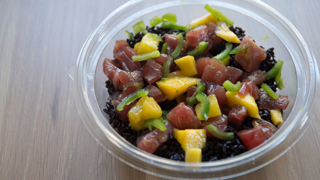 How to order a freestyle Poke bowl at the River Market