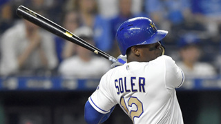 Jorge Soler's fracture to be re-evaluated in a week