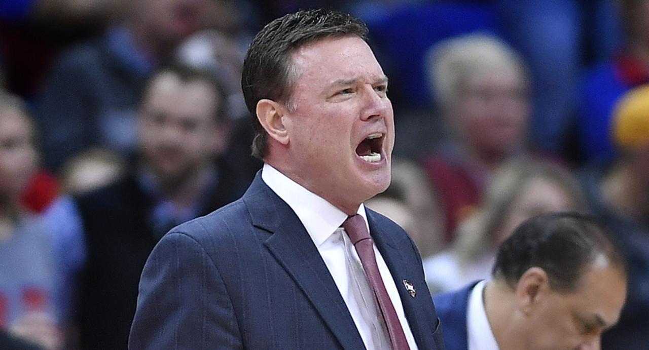 Self strikes positive tone after cold-shooting KU loses Big 12 title to Iowa State