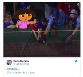 Cubs fans ridicule man who took home-run ball from kids in the bleachers