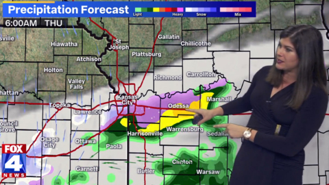 Kansas City area could see cold rain, wintry mix during morning commute