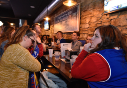 KU fans in Lawrence react to loss