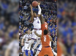 KU's Malik Newman on Devonté Graham's late offensive rebound