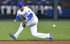 Watch Whit Merrifield stop this groundball in Royals' win over Mariners