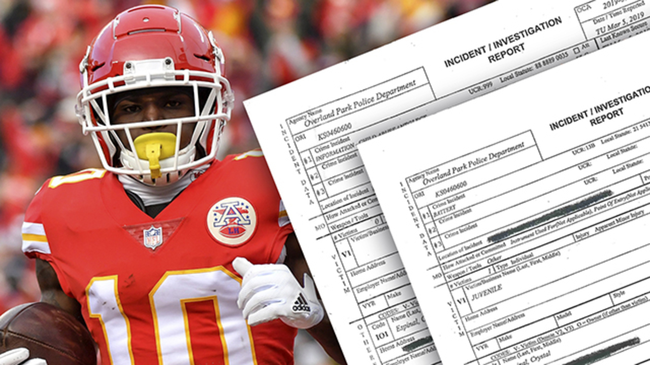 finest selection 694f5 59087 Damning Tyreek Hill audio must force KC Chiefs to act | The ...