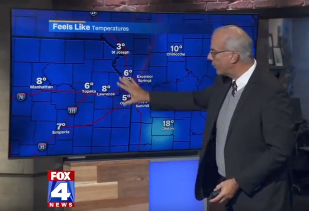 Frosty temperatures to continue Tuesday in Kansas City with near record lows