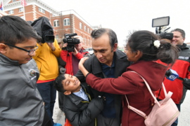 Raw: Syed Jamal reunites with family after federal judge orders release from jail