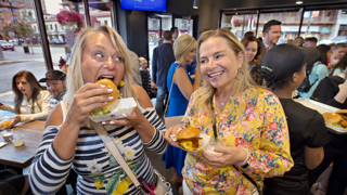 Burgers are sizzling at Kansas City's new Shake Shack on the County Club Plaza