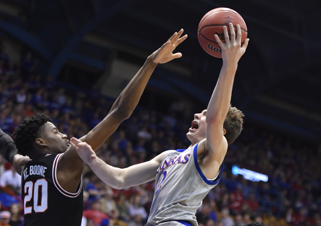 KU's Christian Braun ready for his second Sunflower Showdown game against K-State