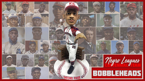 The best Negro Leagues players could become bobbleheads — if there's enough support