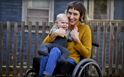 Local author receiving national acclaim for her book about life in a wheelchair