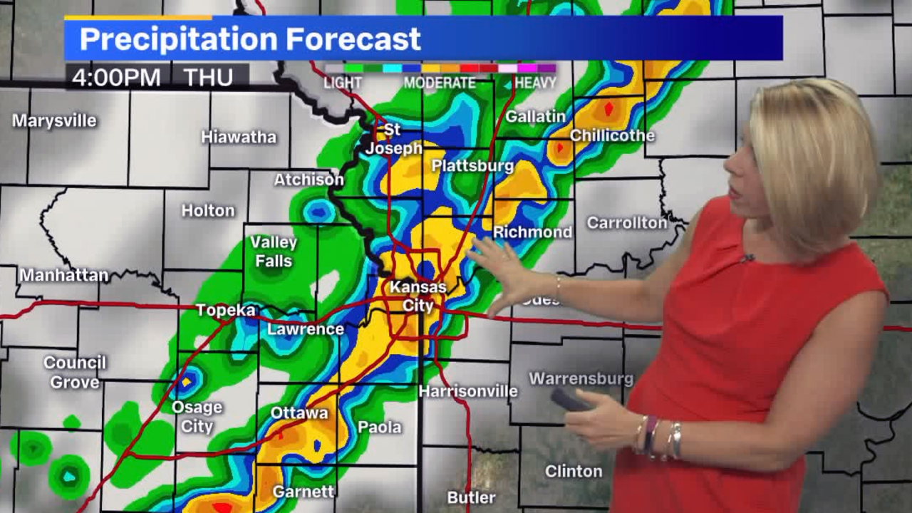 Severe thunderstorms could affect after-school activities, evening rush hour in KC