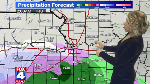 Cold temps, wintry weather expected in KC; Worst of mid-week storm to miss metro
