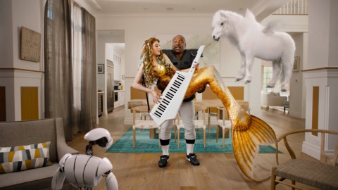 Sprint's 'over the top' Super Bowl commercial summons Bo Jackson  — and a mermaid
