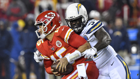 Chiefs QB Patrick Mahomes on 29-28 loss to Chargers