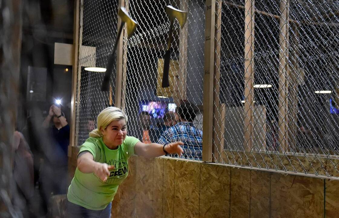 Axe throwing at a bar? The trend is coming to downtown Biloxi.