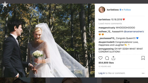 St. Louis native Karlie Kloss and Joshua Kushner quietly marry in 'intimate' ceremony