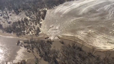 Levee breached on east bank of Missouri River near Atchison | The