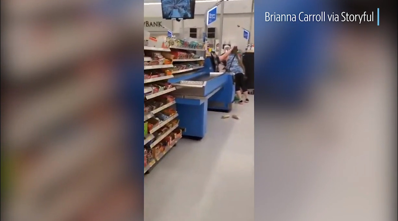 Video shows Walmart customers fighting over social distancing, Colorado woman says