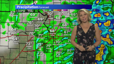 Severe storms possible in Kansas City; temperatures to tumble into the 30s