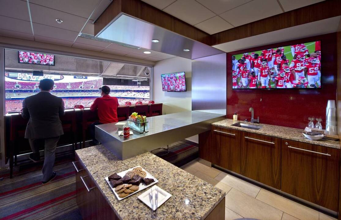 Chiefs Suites At Arrowhead Offer Luxury Perks Great