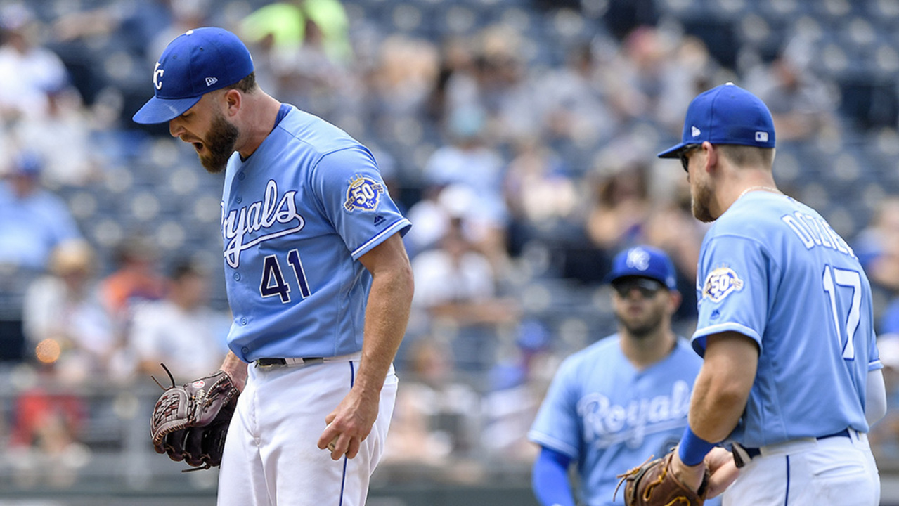 Royals' Duffy frustrated in loss, and Moustakas trade rumors | The