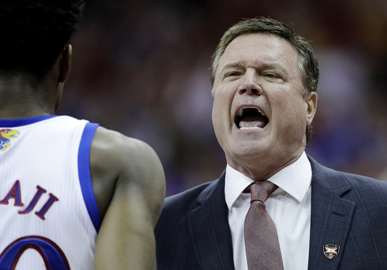 KU Jayhawks basketball vs. Auburn in NCAA Tournament: Lineups, tipoff time, TV