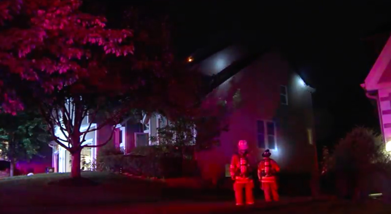 Lightning strike likely caused Overland Park house fire; 4 displaced