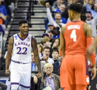 Silvio De Sousa gets excited about running the floor in games for KU