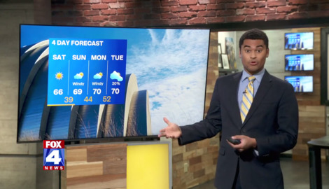 KCMO weather: Sunny skies, storms later in the work week