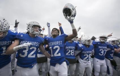 Rockhurst's Andrew Stafford on state semifinal win over Blue Springs