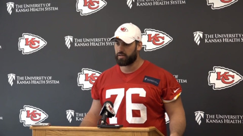 The doctor is in: Chiefs' LDT rebounds from injury, builds chemistry with new linemen