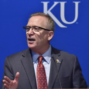 New KU Athletic Director Jeff Long jokes about having daughter who attends Missouri