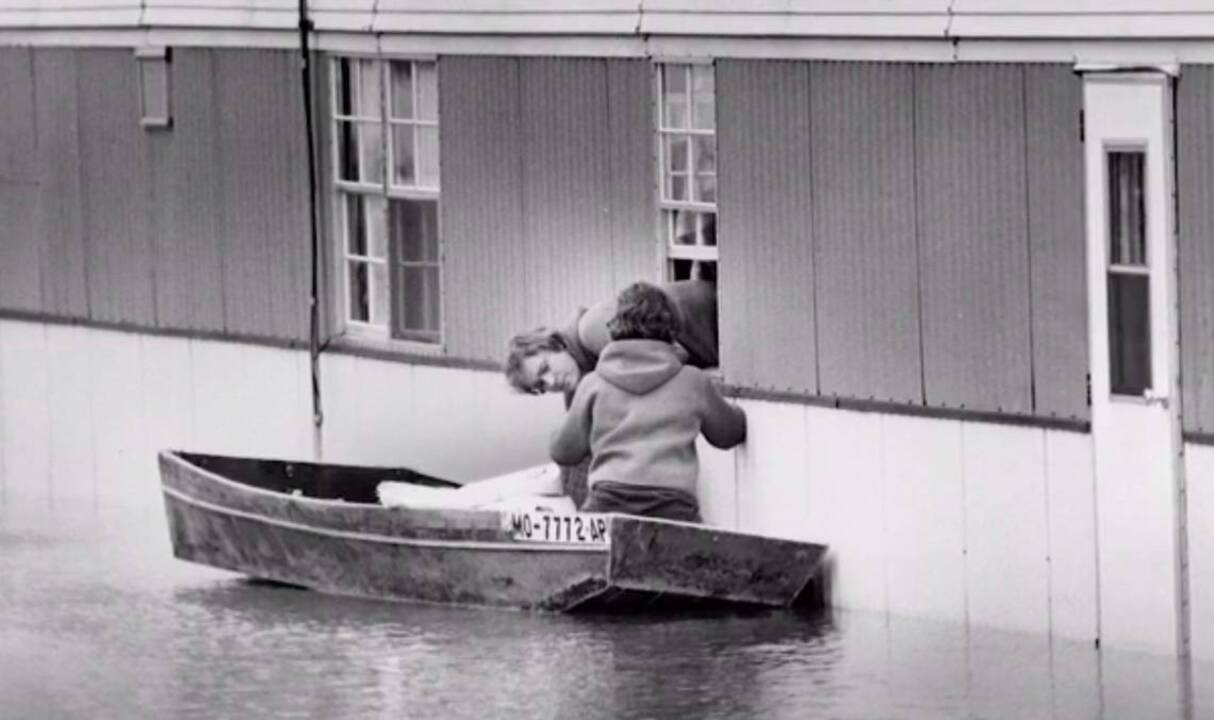 Here's what happened 40 years ago, when epic storms swamped Country Club Plaza, killing 25