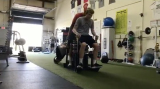 This 16-year-old from Olathe Northwest shows off ridiculous strength