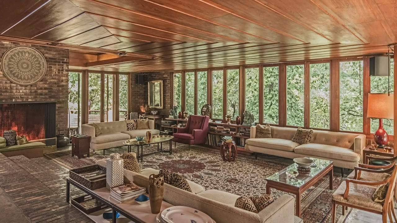 Frank lloyd wright house in roanoke neighborhood for sale - Frank lloyd wright houses for sale ...