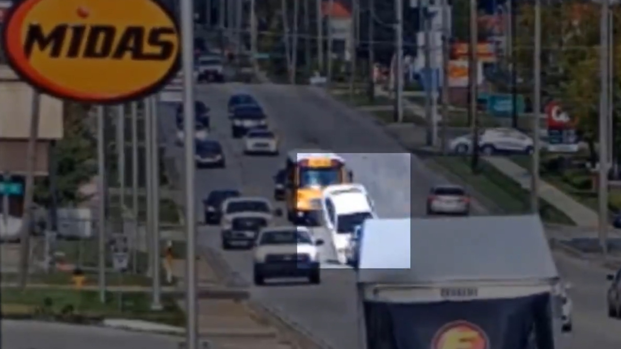 Metcalf crash caught on video caused by distracted driver: Overland Park police chief