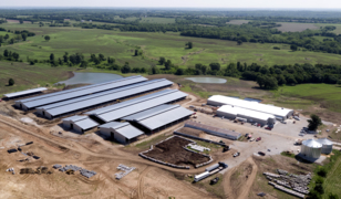 Drone video: Missouri cattle feedlot's plan to expand divides neighbors