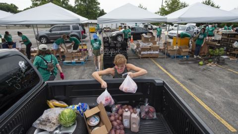 Renewed Hope Food Pantry sees need for food aid triple since start of COVID-19 pandemic
