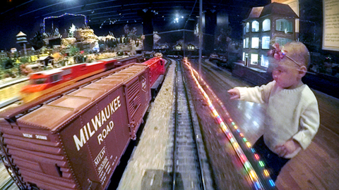 Trains of all sizes are running full steam ahead at Union Station