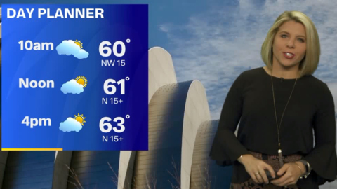 Kansas City to struggle to get out of 60s as cold front blows through