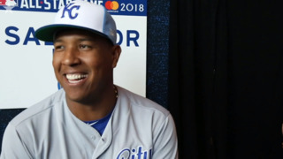 Who's the pitcher Salvador Perez is most afraid of facing?