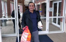 Syed Jamal upon his release from jail: