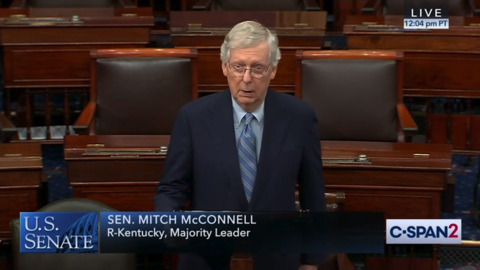 Facing pressure, McConnell backs money for election security