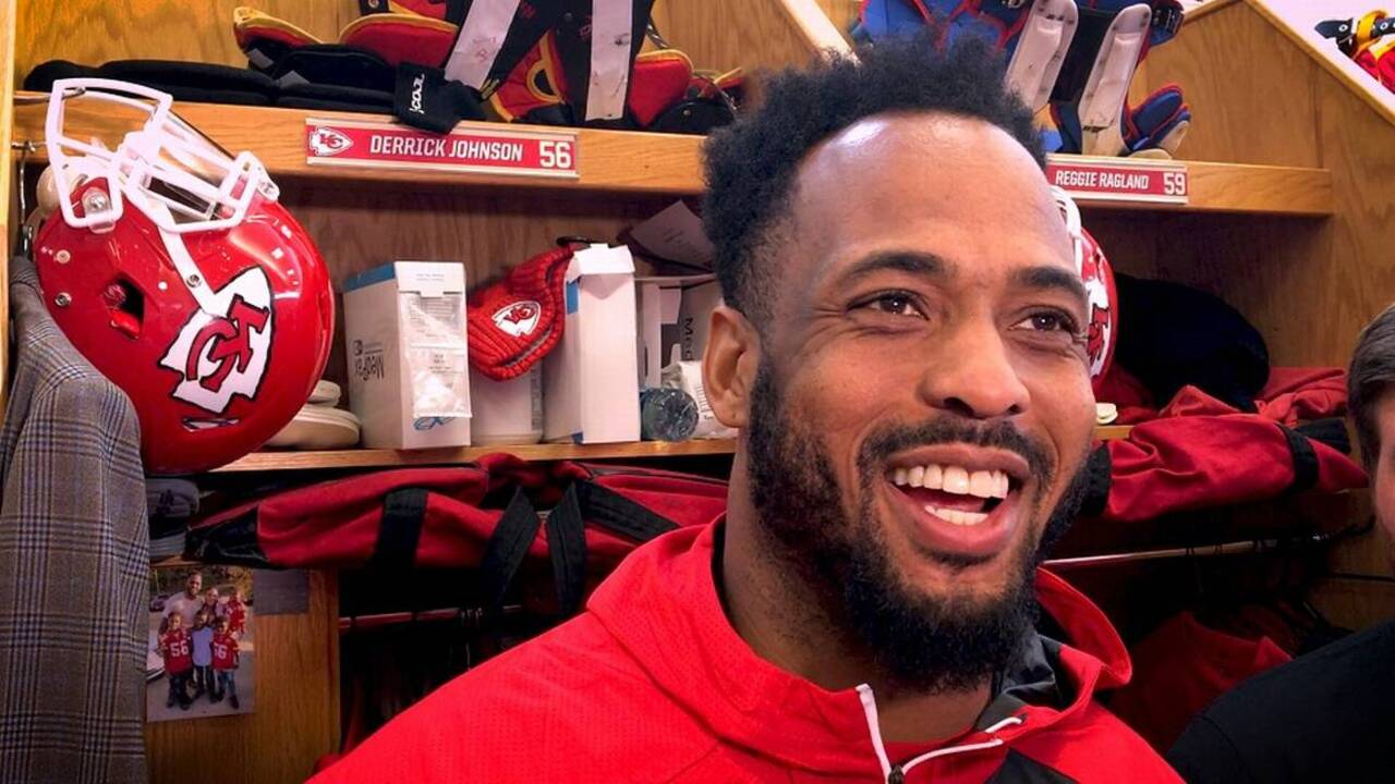 Derrick Johnson laments not having chance to play with Chiefs star Patrick Mahomes
