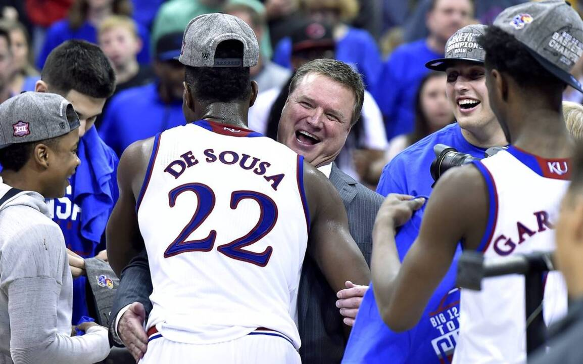 newest 833c6 d3669 KU s crown caps exciting Big 12 season. Now these teams need to make it  matter   The Kansas City Star